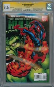 Incredible Hulk #600 CGC 9.6 Signature Series Signed Stan Lee Marvel comic book